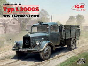 ICM35420 Typ L3000S, WWII German Truck (100% new molds)